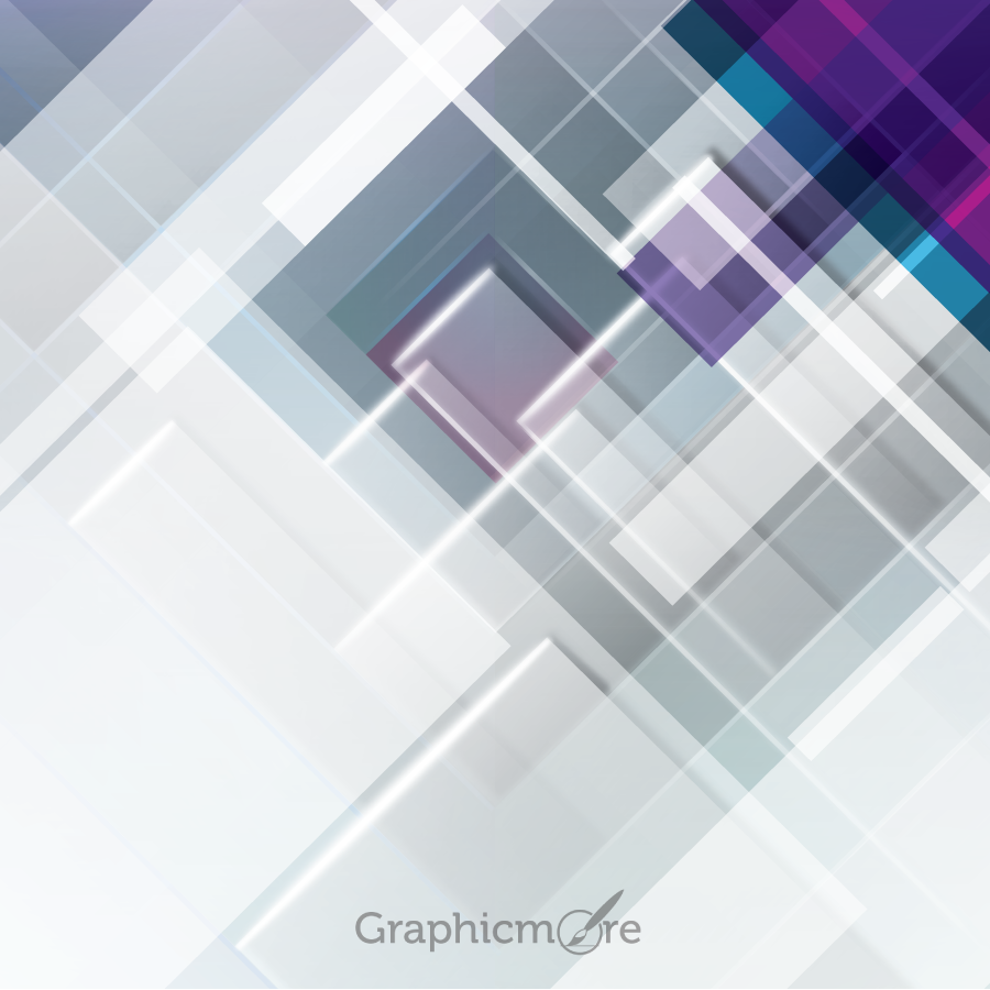 abstract rectangles background design free vector file