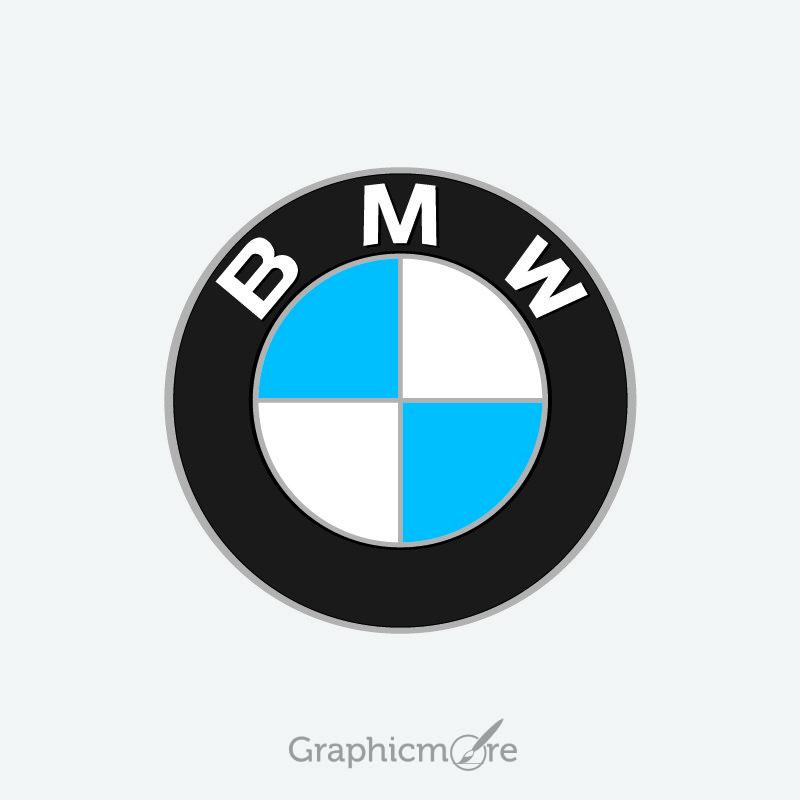 bmw vector logo design