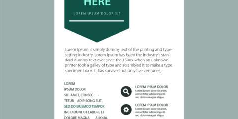 Business Flyer Design Free Vector File