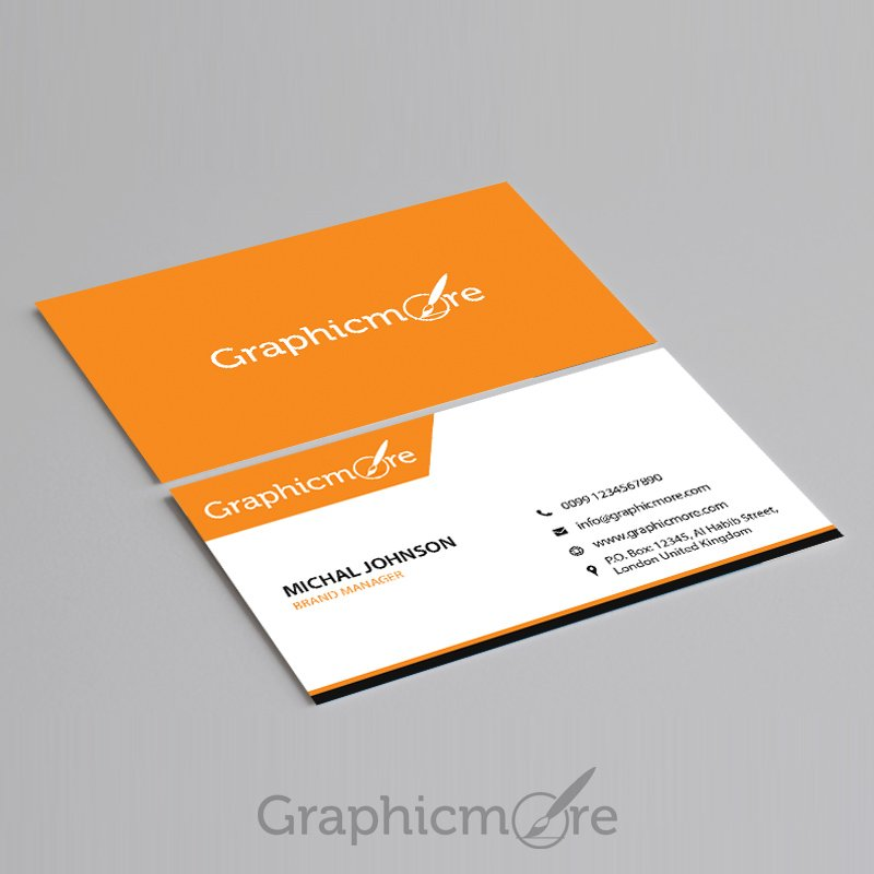 300 best free business card psd and vector templates corporate business card wajeb Images