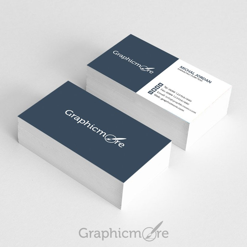 7 best free modern business card psd templates download graphicmore business card template free psd file download reheart Images