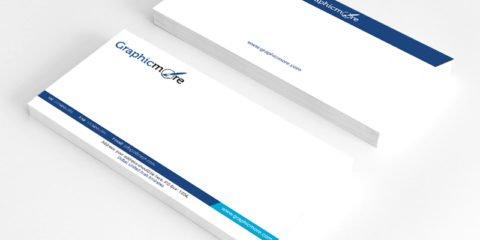 GraphicMore Navy Blue Envelope Design Free PSD File