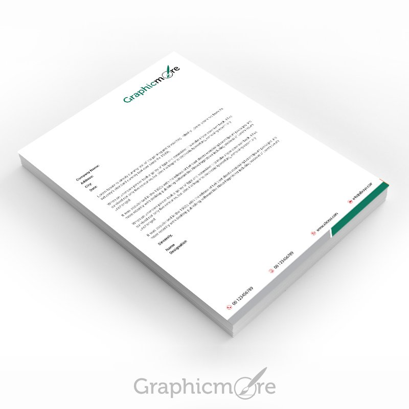 30 best free letterhead design mockup vector and psd templates