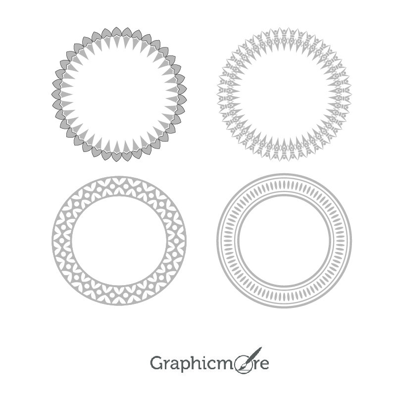 Decorative Shapes Vector File