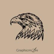 Eagle Head Design Free Vector File