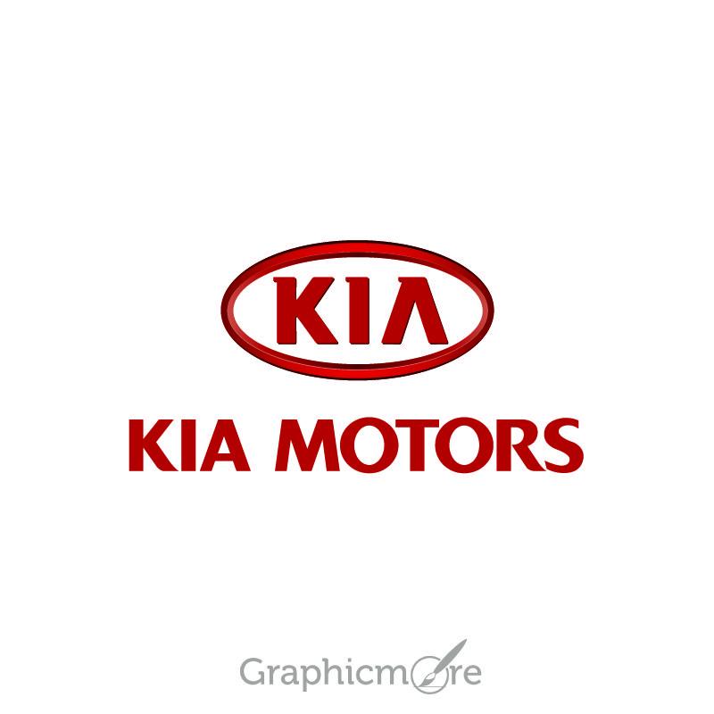 Kia Motors Logo Design Free Vector File