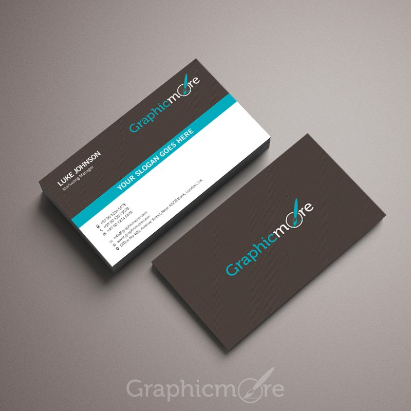 300 best free business card psd and vector templates creative elegant business card template reheart Images