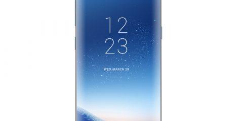 Samsung Galaxy S8 Mockup Design Free PSD File