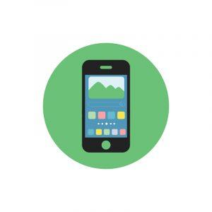 Mobile Icon Design Free PSD Download