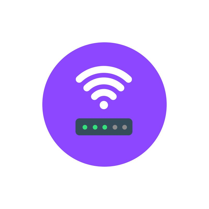 Wifi Signal Icon Design Free PSD Download