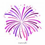 Fireworks shape design free vector download
