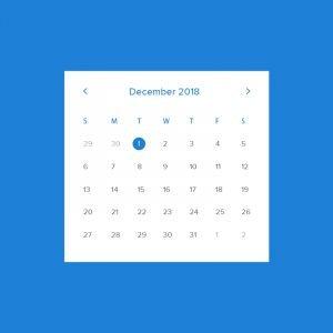 Free Calendar Template Mockup Design PSD Download